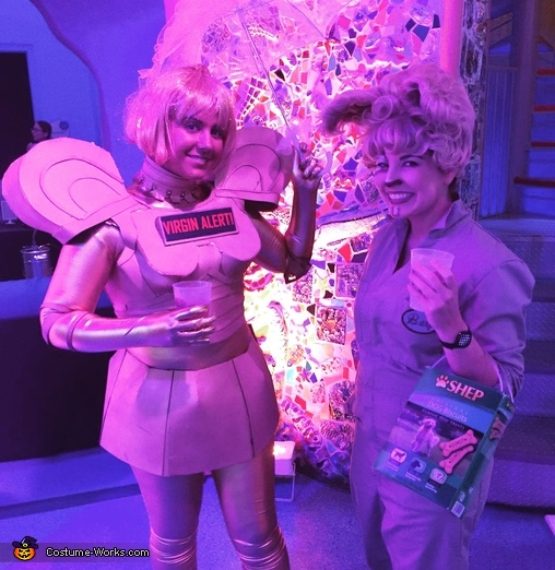 Miami Children's museum Halloween event, Spaceballs Barf and Dot Matrix Costume
