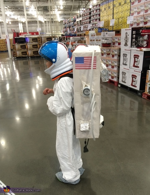Spaceman Homemade Costume