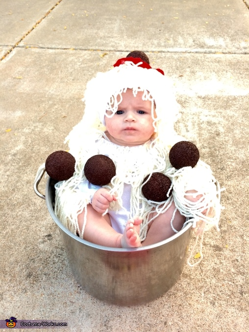Cute as ever!, Spaghetti and Meatballs Baby Costume