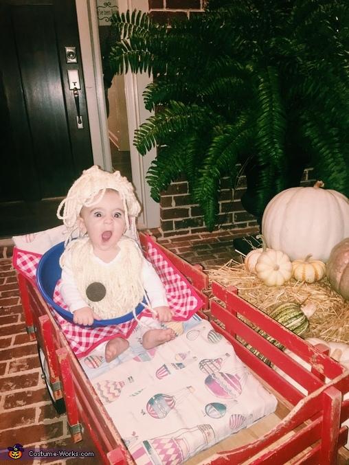 Spaghetti and Meatballs Baby Costume
