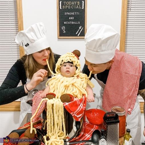 Spaghetti and Meatballs Costume