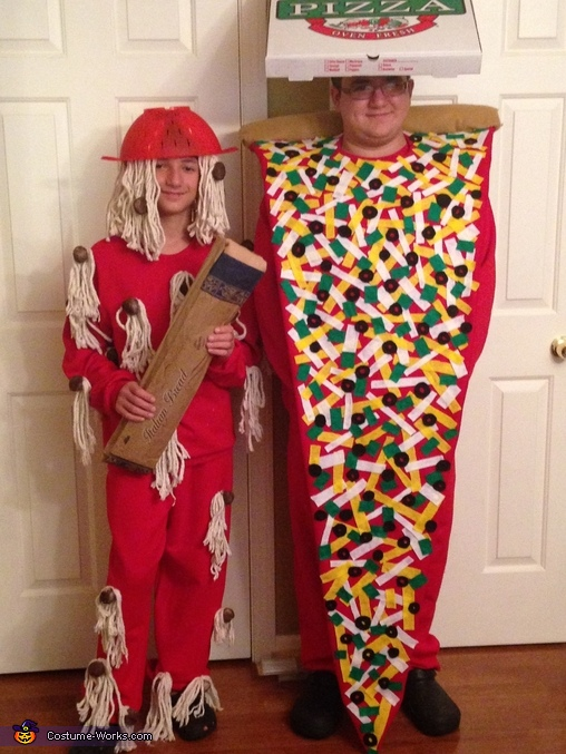 Spaghetti & Meatball and Pizza Costumes