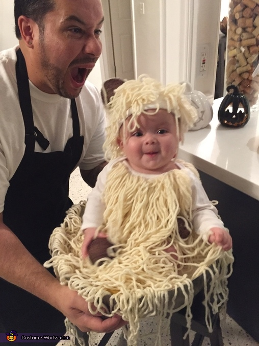 Funnies ..., Spaghetti & Meatball Baby Costume