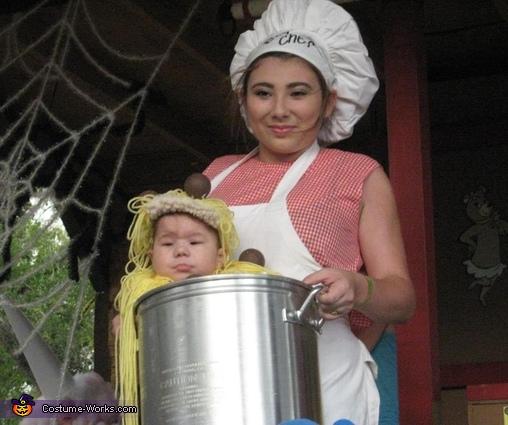 Spaghetti & Meatballs Halloween Costume