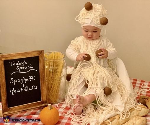 Spaghetti & Meatballs, Spaghetti & Meatballs Costume