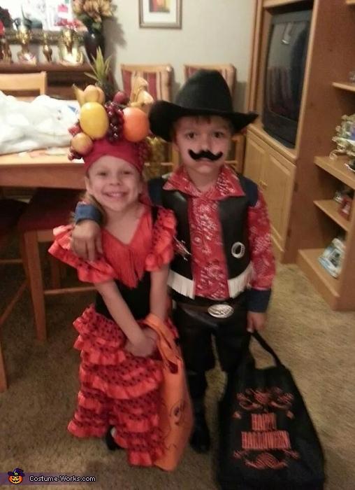 Spanish Dancer and Sheriff Costume