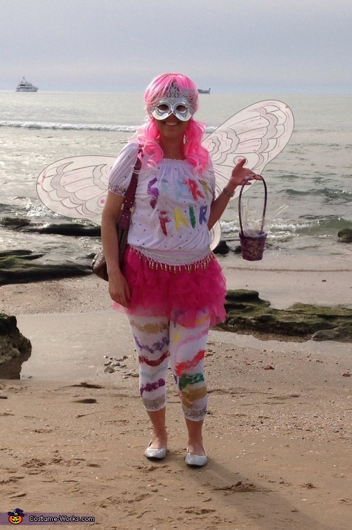 Sparkle Fairy Homemade Costume