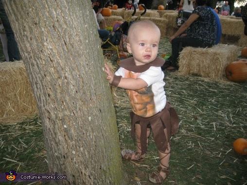 Homemade Spartacus Costume