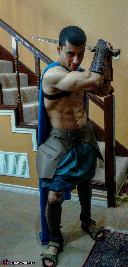 Spartan Homemade Costume
