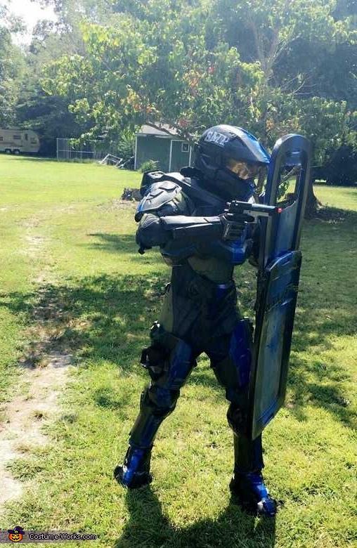 Spartan Military Police Captain Costume