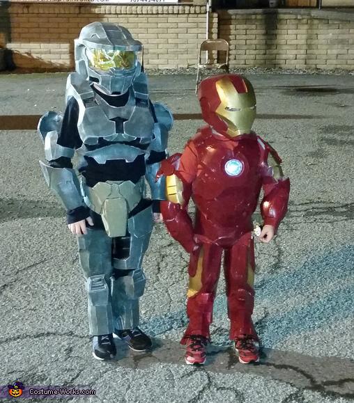 Halo Spartan & Ironman Costumes