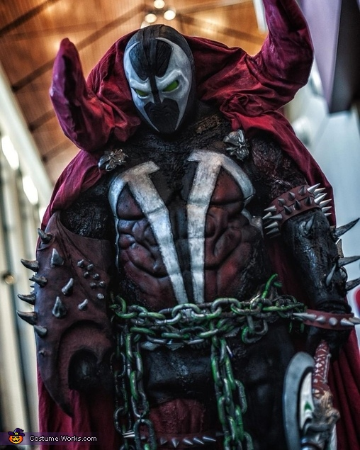 Spawn Homemade Costume