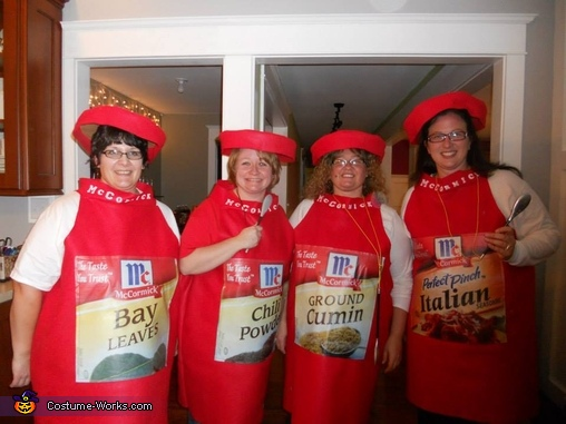 Spice Girls Group Costume