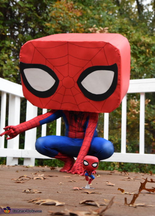 Spider-Man Funko Pop Costume