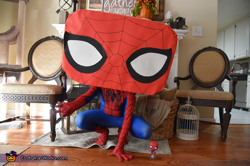 Spider-Man Funko Pop Homemade Costume