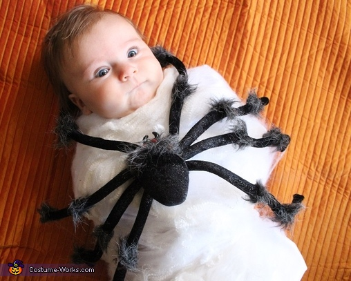 Spider Attack Baby Costume