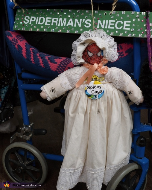 Spider Man's Mother Homemade Costume