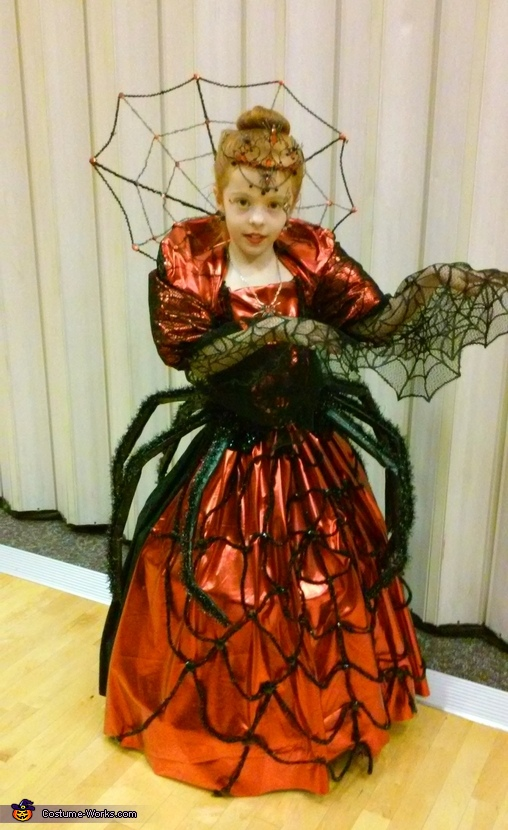Spider Queen Homemade Costume