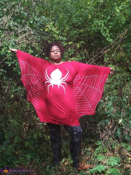 Spider Queens Homemade Costume
