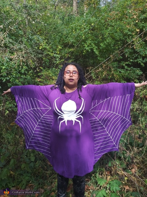Spider Queens Homemade Costume