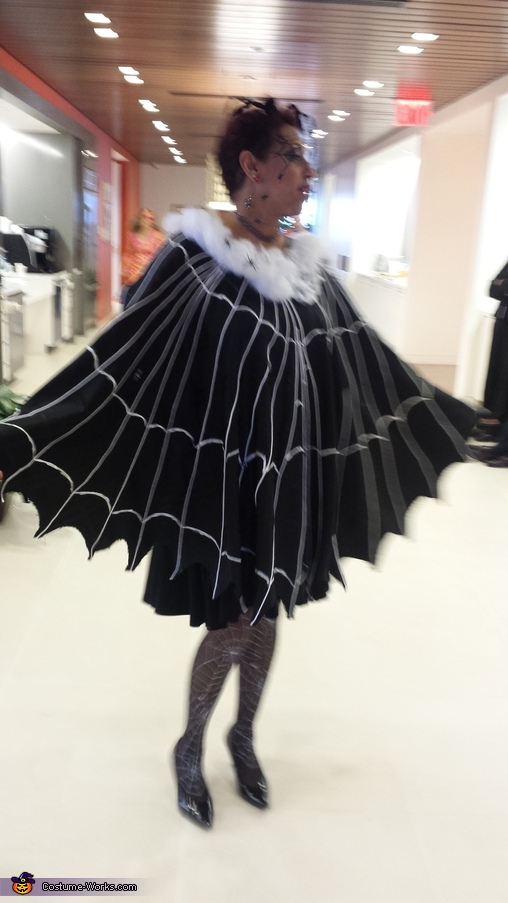 Spider Web Homemade Costume