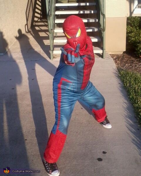 Amazing Spiderboy Costume