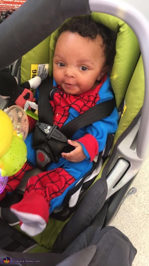 Spider baby, Spiderman Costume