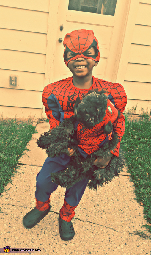 Spidermen Boy Costume
