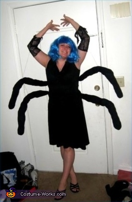 Spider Woman Costume & Homemade Spider Costume for Woman