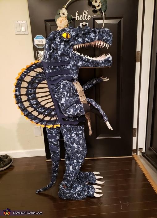 Miles-a-saurus Costume