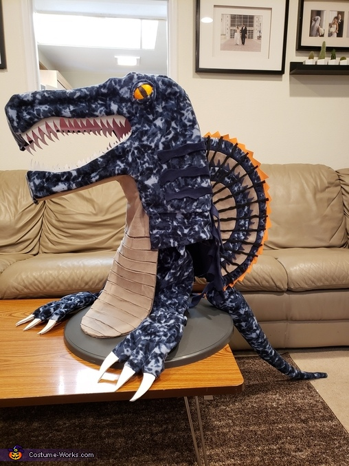 WIP, Miles-a-saurus Costume