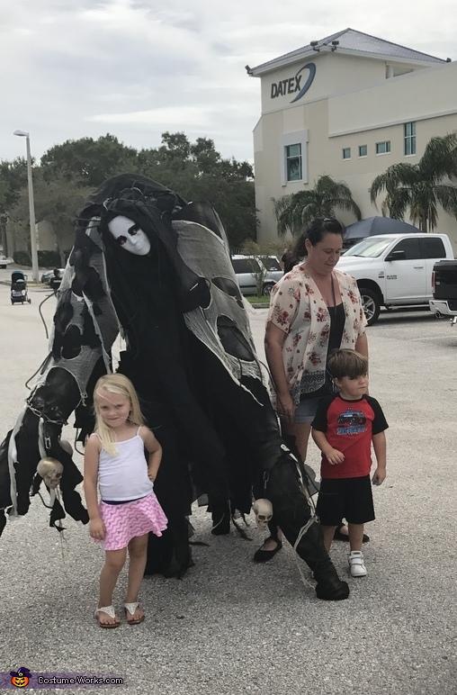 Spirit Stilt Creature Costume