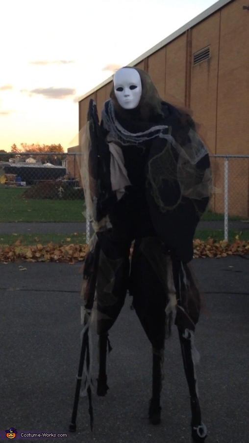 Outside my school, Spirit Walker Costume