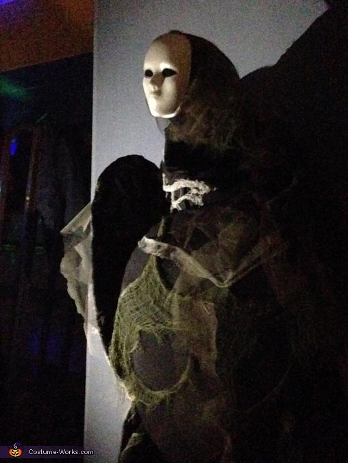 In the gym, Spirit Walker Costume