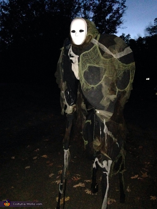 At night, Spirit Walker Costume