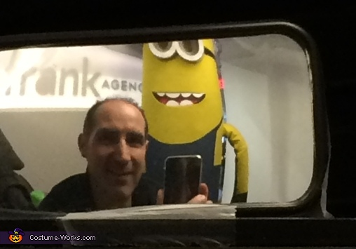 Minion in my rear-view mirror!!!, Split-Personality Minion Costume
