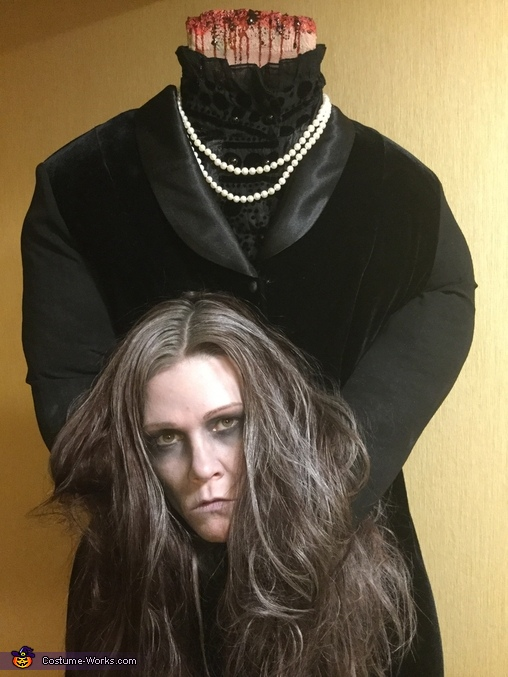 Splitting Headache Homemade Costume