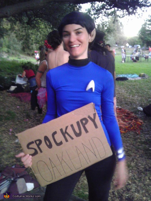 Spockupy Oakland - Homemade costumes for girls