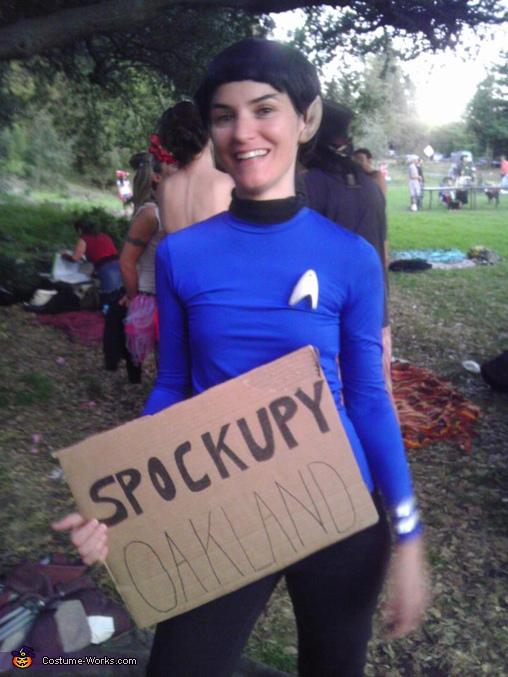 Spockupy Oakland Costume