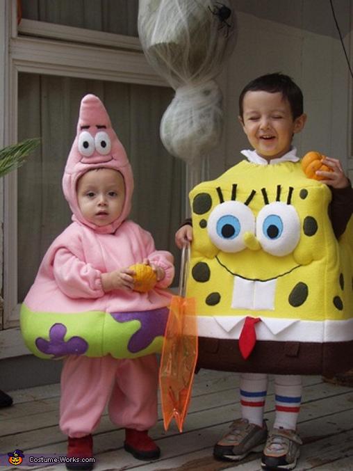 Sponge Bob and Patrick Costumes