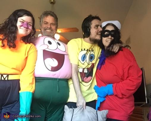 Sponge Bob Crew Costume