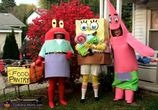 Sponge Bob & Friends Costume