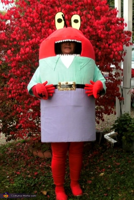 Sponge Bob and Friends Homemade Costume
