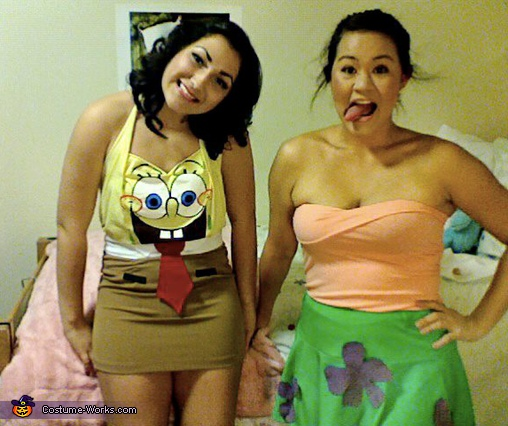 Spongebobby and Patty Costume
