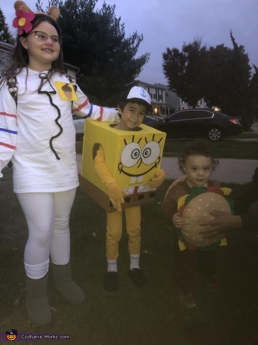 SpongeBob and Sandy Cheeks Costume