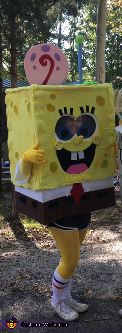 SpongeBob and Gary, SpongeBob Characters Costume