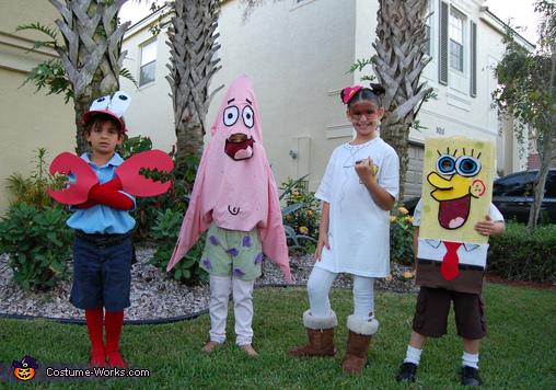 Spongebob Crew Costumes