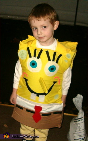 Sponge Bob Square Pants - Homemade costumes for boys