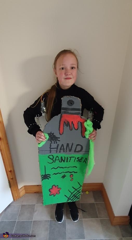 Spooky Hand Sanitiser Costume