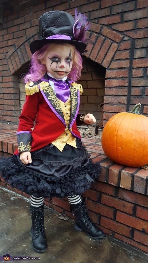 Spooky Little Ringmaster Costume